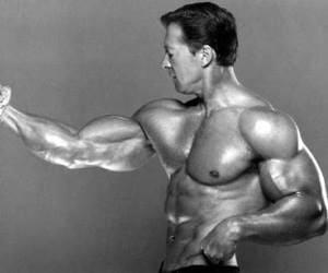 Ларри Скотт - бодибилдер, который в лучшие времена имел одни из наиболее гармонично развитых рук