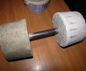 Как сделать в домашних условиях блины для гантелей