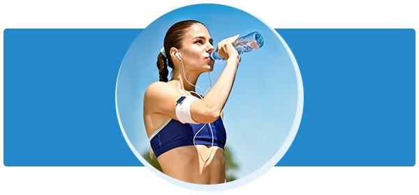 Пить ли воду во время тренировки