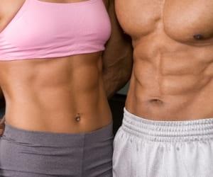 Кубики на животе появляются в том случае, если количество жира в организме не превышает 10-12% от общей массы тела