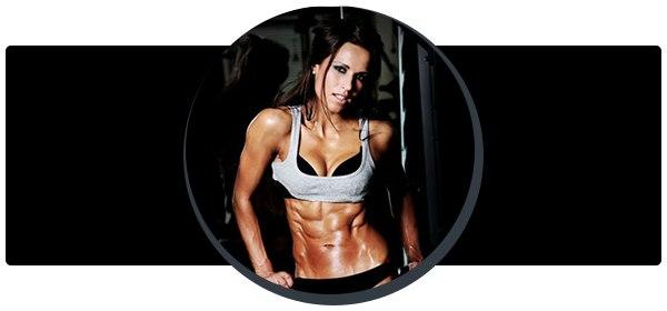 Тренировка на грудные мышцы для девушек