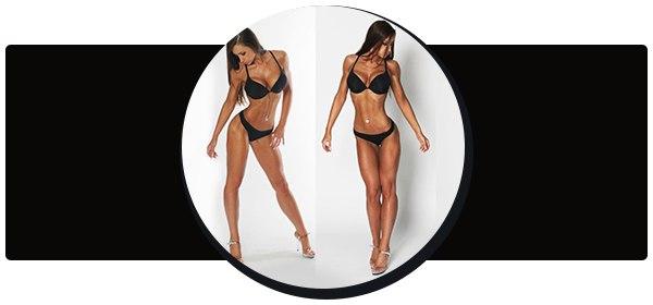 Комплекс мер, которые помогут убрать жир с коленей