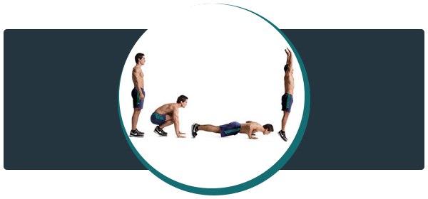 Берпи - эффективное упражнение из кроссфита