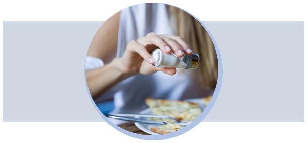 Чистим организм бессолевой диетой