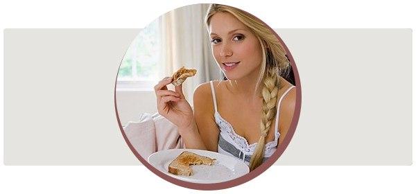 Интересно про хлебную диету