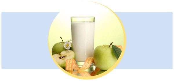Жёсткая кефирно-яблочная монодиета