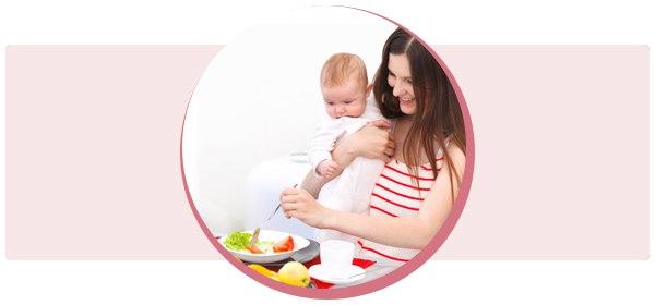 Специальная диета для кормящих мам