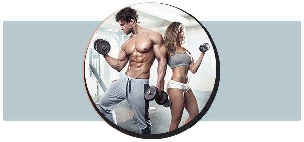 Упражнения с гантелями комплекс для рук на трицепс плечи спину и грудные мышцы