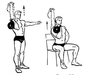 Гиря является снарядом, который позволяет значительно увеличить силу плечевого пояса