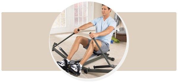 Гребной тренажер для похудения
